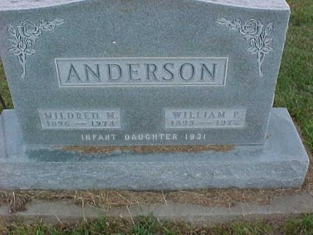 ANDERSON, WILLIAM - Henry County, Iowa | WILLIAM ANDERSON