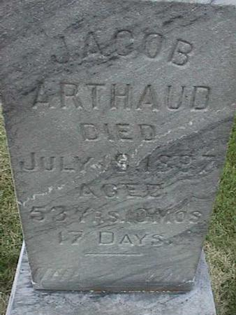 ARTHAUD, JACOB - Henry County, Iowa | JACOB ARTHAUD