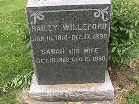 BAILEY, WILLEFORD - Henry County, Iowa | WILLEFORD BAILEY