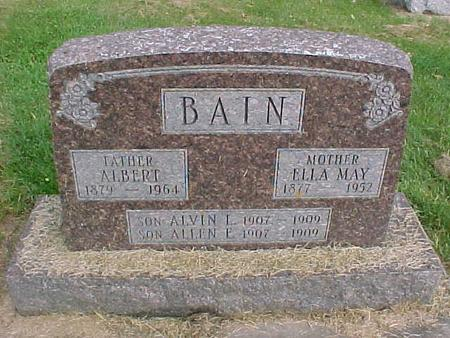 BAIN, ELLA MAY - Henry County, Iowa | ELLA MAY BAIN