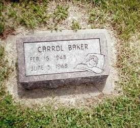 BAKER, CARROL - Henry County, Iowa | CARROL BAKER