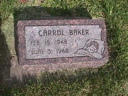 BAKER, CARROL - Henry County, Iowa | CARROL BAKER