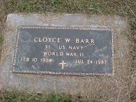 BARR, CLOYCE - Henry County, Iowa | CLOYCE BARR