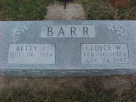 BARR, BETTY - Henry County, Iowa | BETTY BARR