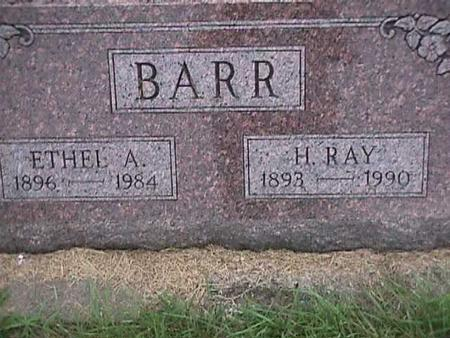 BARR, H. RAY - Henry County, Iowa | H. RAY BARR