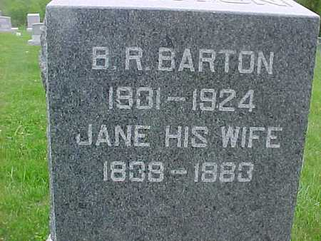 BARTON, JANE - Henry County, Iowa | JANE BARTON