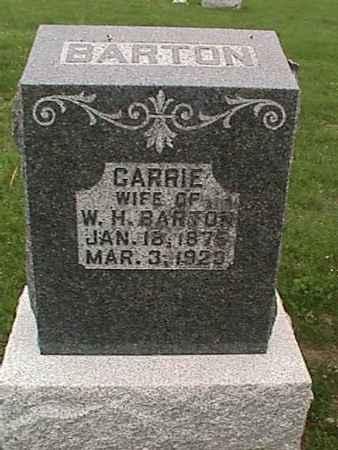 BARTON, CARRIE - Henry County, Iowa | CARRIE BARTON