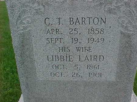 LAIRD BARTON, LIBBIE - Henry County, Iowa | LIBBIE LAIRD BARTON