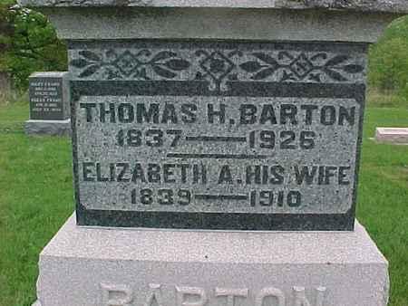 BARTON, ELIZABETH - Henry County, Iowa | ELIZABETH BARTON