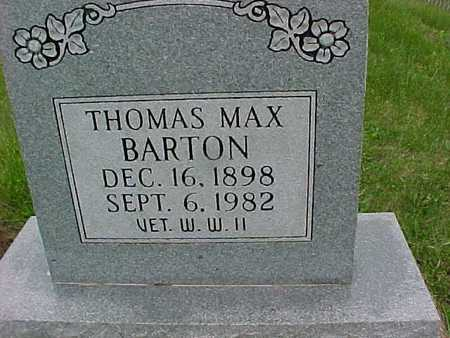 BARTON, THOMAS MAX - Henry County, Iowa | THOMAS MAX BARTON