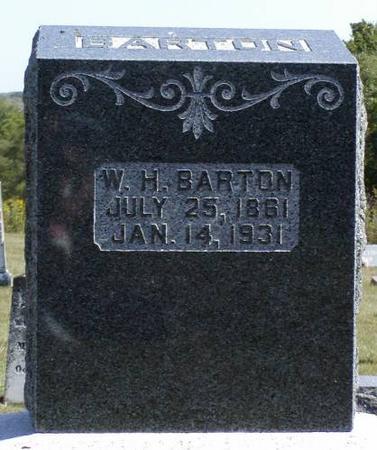 BARTON, W. H. - Henry County, Iowa | W. H. BARTON