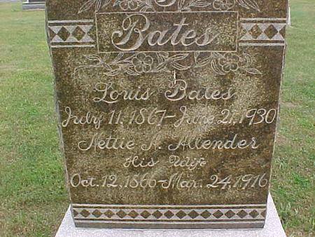 BATES, NETTIE - Henry County, Iowa | NETTIE BATES