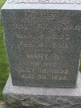 BAUSMAN, MARY - Henry County, Iowa | MARY BAUSMAN