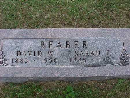 BEABER, DAVID - Henry County, Iowa | DAVID BEABER