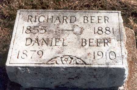 BEER, RICHARD - Henry County, Iowa | RICHARD BEER