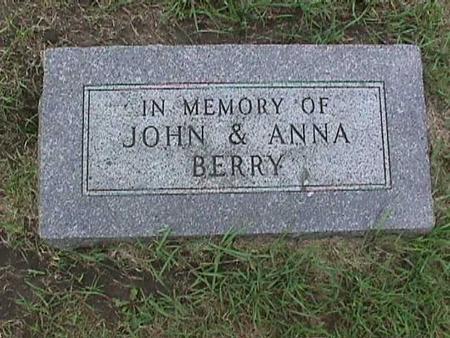 BERRY, ANNA - Henry County, Iowa | ANNA BERRY