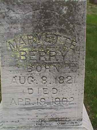 BERRY, MARVETTE - Henry County, Iowa | MARVETTE BERRY