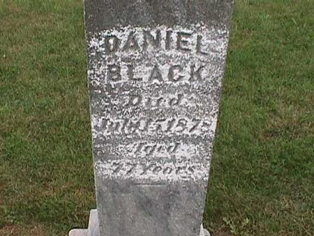 BLACK, DANIEL - Henry County, Iowa | DANIEL BLACK