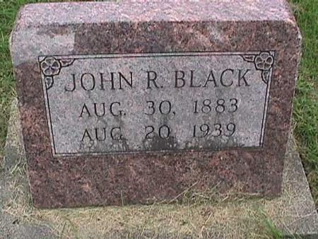 BLACK, JOHN R. - Henry County, Iowa | JOHN R. BLACK