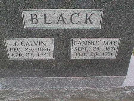 BLACK, FANNIE MAY - Henry County, Iowa | FANNIE MAY BLACK