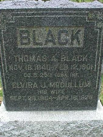 BLACK, THOMAS A - Henry County, Iowa | THOMAS A BLACK