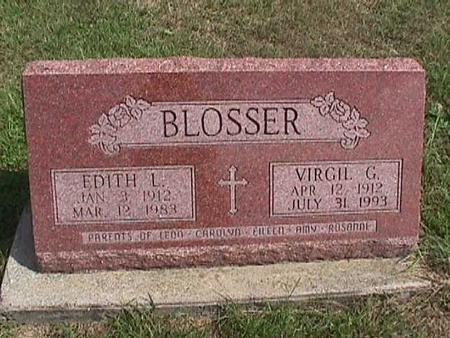 BLOSSER, EDITH - Henry County, Iowa | EDITH BLOSSER