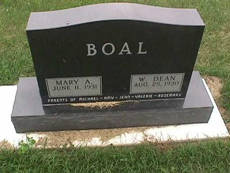 BOAL, MARY - Henry County, Iowa | MARY BOAL