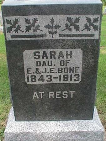 BONE, SARAH - Henry County, Iowa | SARAH BONE