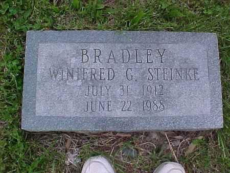 STEINKE BRADLEY, WINIFRED - Henry County, Iowa | WINIFRED STEINKE BRADLEY