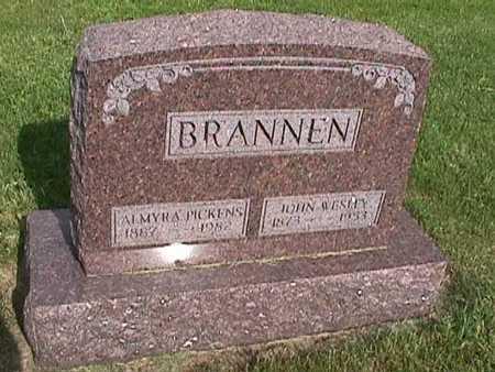 PICKENS BRANNEN, ALMYRA - Henry County, Iowa | ALMYRA PICKENS BRANNEN