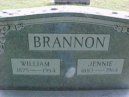 BRANNON, JENNIE - Henry County, Iowa | JENNIE BRANNON
