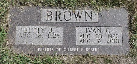 BROWN, IVAN C. - Henry County, Iowa | IVAN C. BROWN