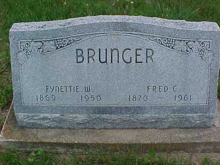 BRUNGER, FRED - Henry County, Iowa | FRED BRUNGER
