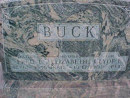 BUCK, CLYDE E - Henry County, Iowa | CLYDE E BUCK