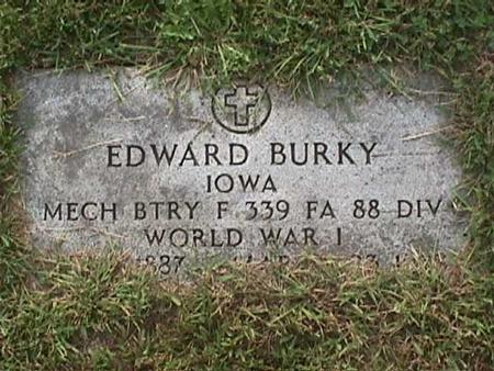 BURKY, EDWARD - Henry County, Iowa | EDWARD BURKY