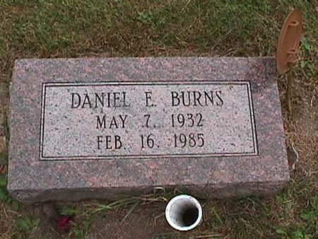 BURNS, DANIEL E. - Henry County, Iowa | DANIEL E. BURNS