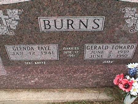 BURNS, GERALD - Henry County, Iowa | GERALD BURNS