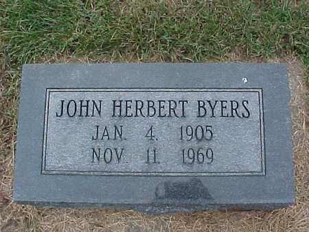 BYERS, JOHN HERBERT - Henry County, Iowa | JOHN HERBERT BYERS