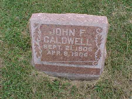 CALDWELL, JOHN F. - Henry County, Iowa | JOHN F. CALDWELL