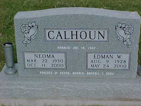 CALHOUN, NEOMA - Henry County, Iowa | NEOMA CALHOUN