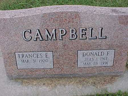 CAMPBELL, FRANCES - Henry County, Iowa | FRANCES CAMPBELL