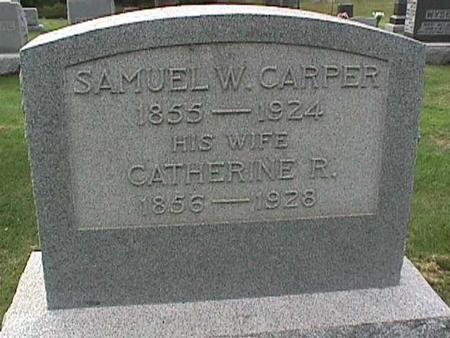 CARPER, SAMUEL W. - Henry County, Iowa | SAMUEL W. CARPER