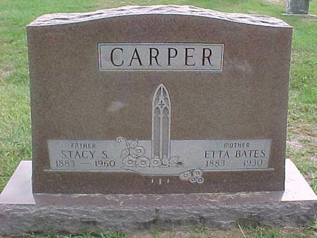 BATES CARPER, ETTA - Henry County, Iowa | ETTA BATES CARPER