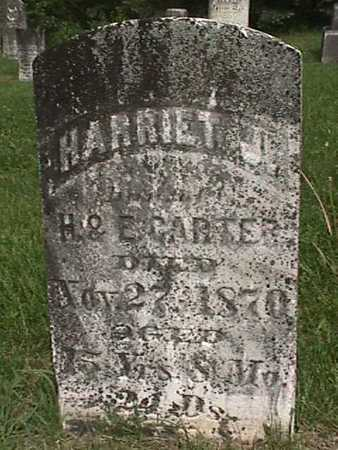 CARTER, HARRIET J - Henry County, Iowa | HARRIET J CARTER
