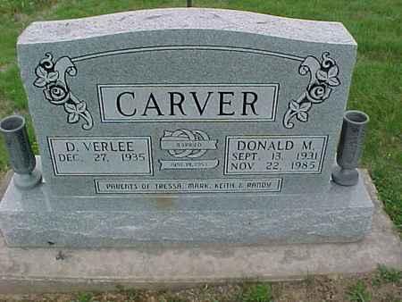 CARVER, DONALD - Henry County, Iowa | DONALD CARVER