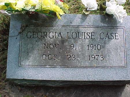 CASE, GEORGIA LOUISE - Henry County, Iowa | GEORGIA LOUISE CASE