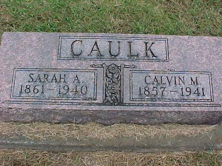 CAULK, SARAH - Henry County, Iowa | SARAH CAULK