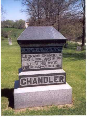 CHANDLER, ELIZA D. - Henry County, Iowa | ELIZA D. CHANDLER