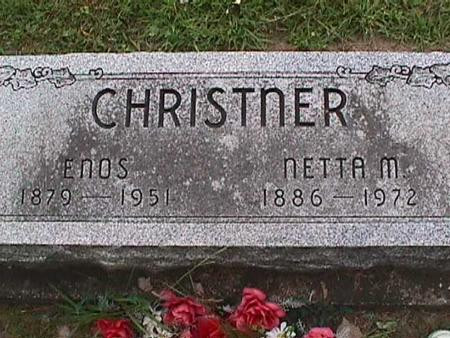 CHRISTNER, ENOS - Henry County, Iowa | ENOS CHRISTNER