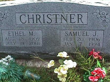 CHRISTNER, ETHEL M - Henry County, Iowa | ETHEL M CHRISTNER